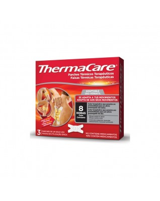THERMACARE 3 PARCHES...