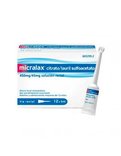 MICRALAX EMULSION RECTAL 12...