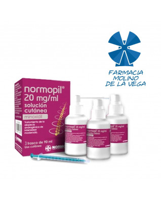 NORMOPIL 20 MG/ML SOLUCION...
